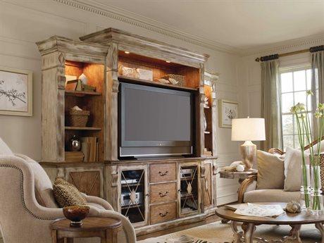 Hooker Furniture Sanctuary Dune & Beach 117''L x 24''W Entertainment Center