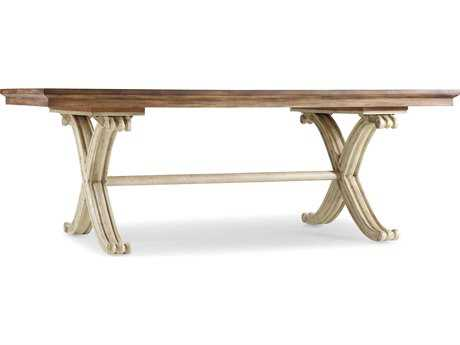 Hooker Furniture Sanctuary Dune & Amber Sands 82''L x 42''W Rectangular Dining Table