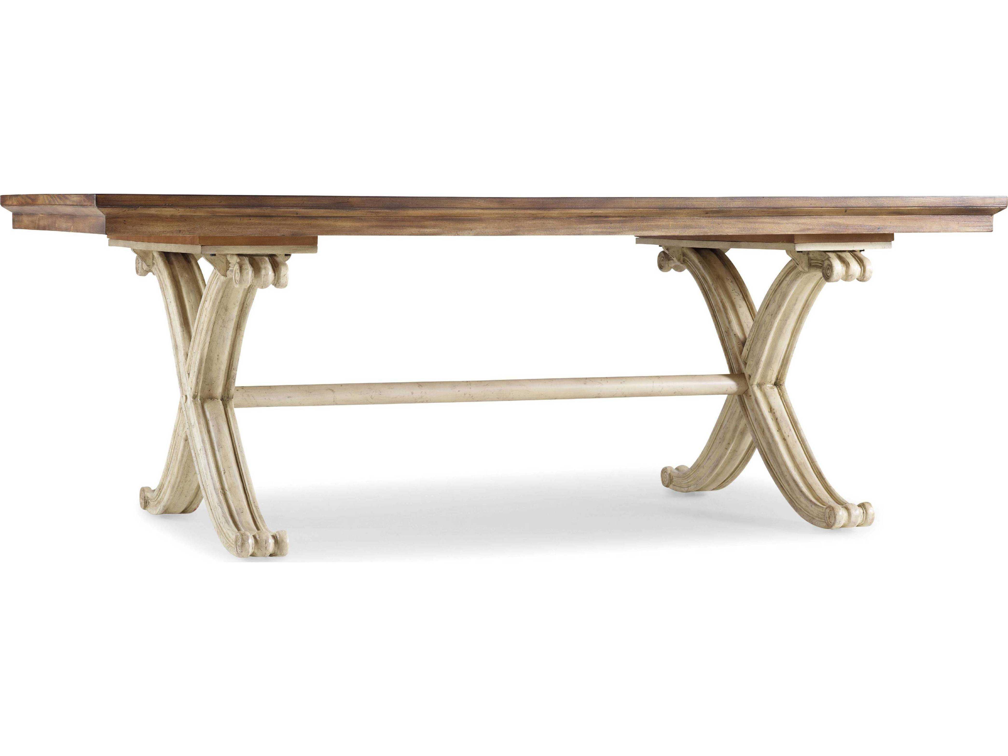 hooker furniture sanctuary dune amber sands 82 39 39 l x 42 39 39 w rectangular dining table hoo300275206. Black Bedroom Furniture Sets. Home Design Ideas