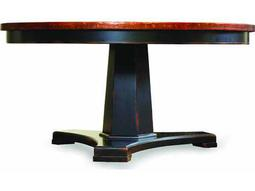 Hooker Furniture Sanctuary Ebony 60'' Wide Round Pedestal Dining Table