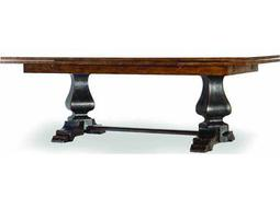 Hooker Furniture Sanctuary Ebony & Drift 132''L x 46''W Rectangular Dining Table
