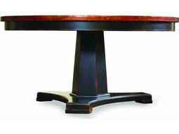 Hooker Furniture Sanctuary Ebony 48'' Wide Round Pedestal Dining Table