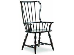 Hooker Furniture Sanctuary Spindle Ebony Dining Arm Chair