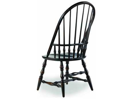 Hooker Furniture Sanctuary Windsor Ebony Dining Side Chair