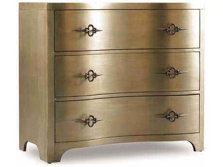 Hooker Furniture Sanctuary Antique Mirror & Gold 38''W x 20''D Accent Chest