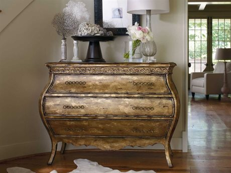 Hooker Furniture Sanctuary Bling 46''W x 18''D Rectangular Bachelor Chest Nightstand