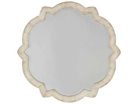 Hooker Furniture Sanctuary Pearl Essence 40'' Wide Round Wall Mirror