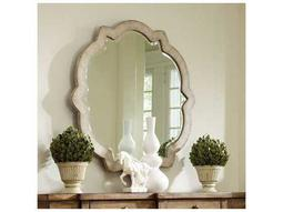Sanctuary Pearl Essence 40'' Wide Round Wall Mirror