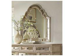 Sanctuary Pearl Essence 46''W x 46''H Landscape Dresser Mirror