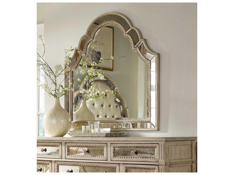 Hooker Furniture Sanctuary Pearl Essence 46u0027u0027W X 46u0027u0027H Landscape Dresser