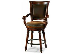 Hooker Furniture Waverly Place Distressed Antique Cherry Counter Stool