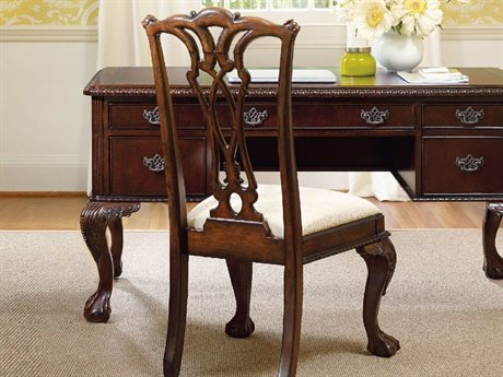 Hooker Furniture Ball-Claw Dark Wood Dining Side Chair