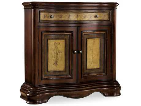 Hooker Furniture Vineyard Dark Wood 35''L x 12''W Hall Console Table