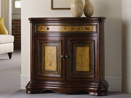 Beau Hooker Furniture Vineyard Dark Wood 35u0027u0027L X 12u0027u0027W Hall Console