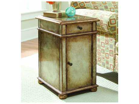 Hooker Furniture Gold 14''L x 18''W Rectangular End Table