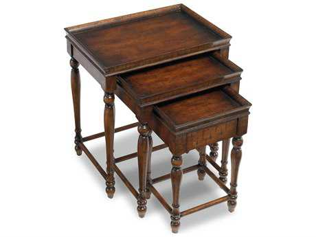 Hooker Furniture Cherry 22''L x 15''W Rectangular Nesting Table