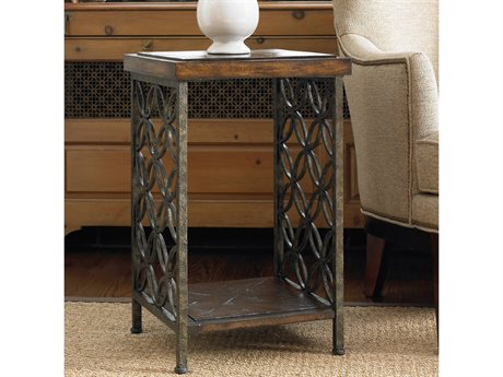 Hooker Furniture Medium Wood 16'' Wide Square End Table