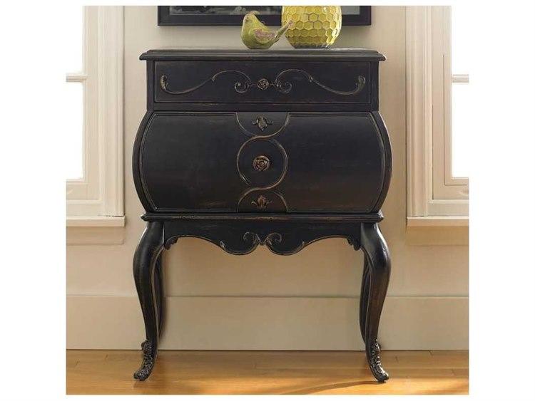 Charmant Hooker Furniture Black 25u0027u0027W X 17u0027u0027D Bombe Accent Chest