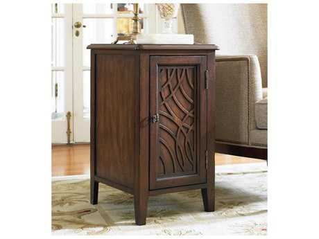 Hooker Furniture Walnut 16''L x 19''W Rectangular Chairside End Table