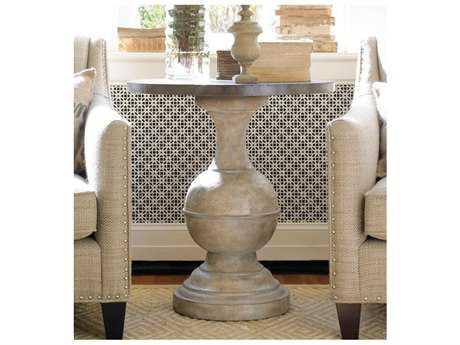 Hooker Furniture Whites, Creams, Beige 26'' Wide Round Pedestal Table
