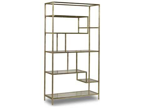 Hooker Furniture Silver Bookcase
