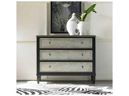 Black with Two-Tone Aluminum Wrap 42''W x 18''D Accent Chest