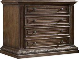 Hooker Furniture Rhapsody Rustic Walnut Lateral File Cabinet