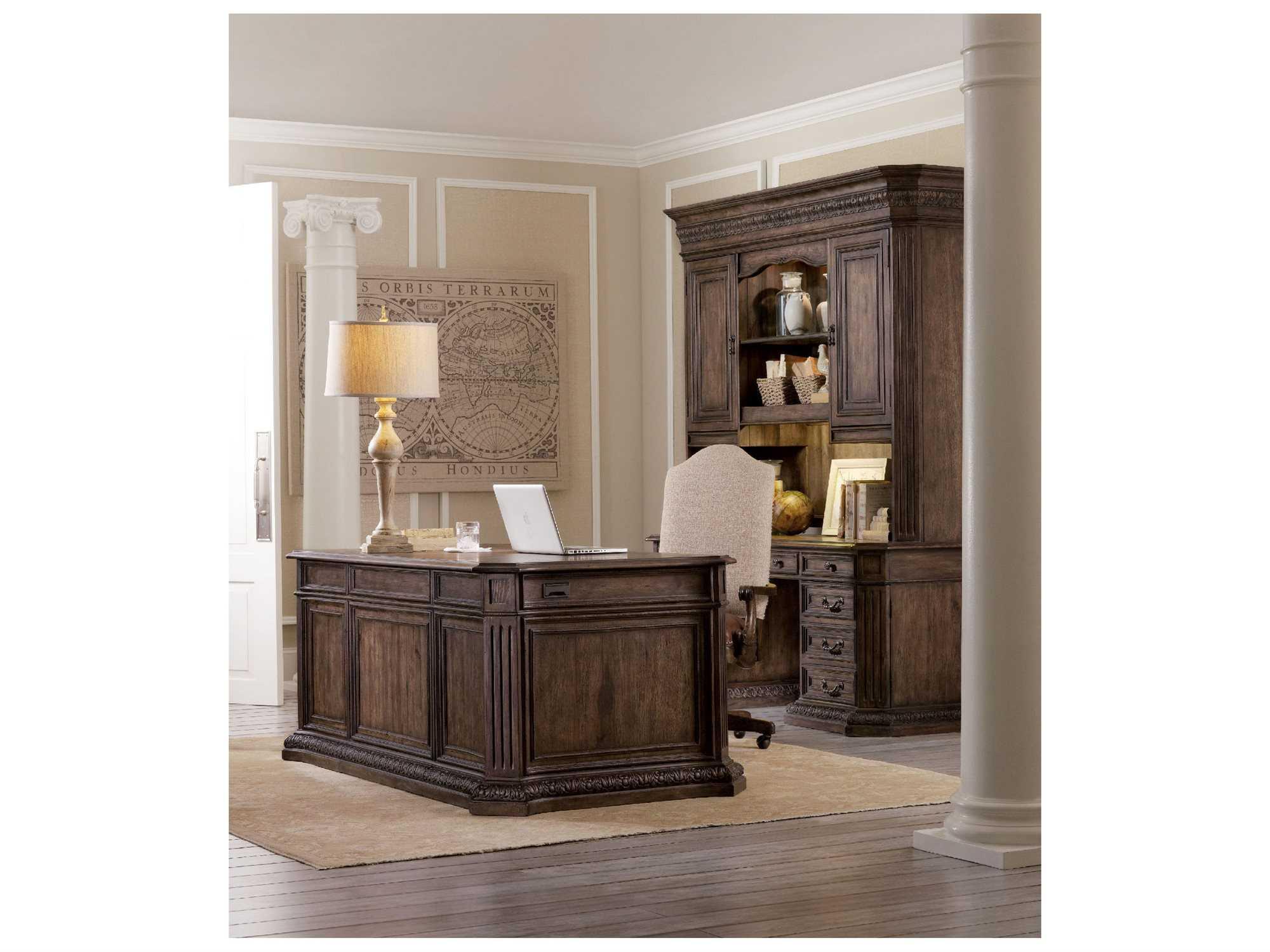 Hooker furniture rhapsody home office set hoo507010563set - Hooker home office furniture ...