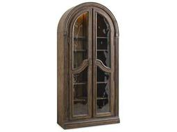 Hooker Furniture Rhapsody Rustic Walnut Bunching Curio