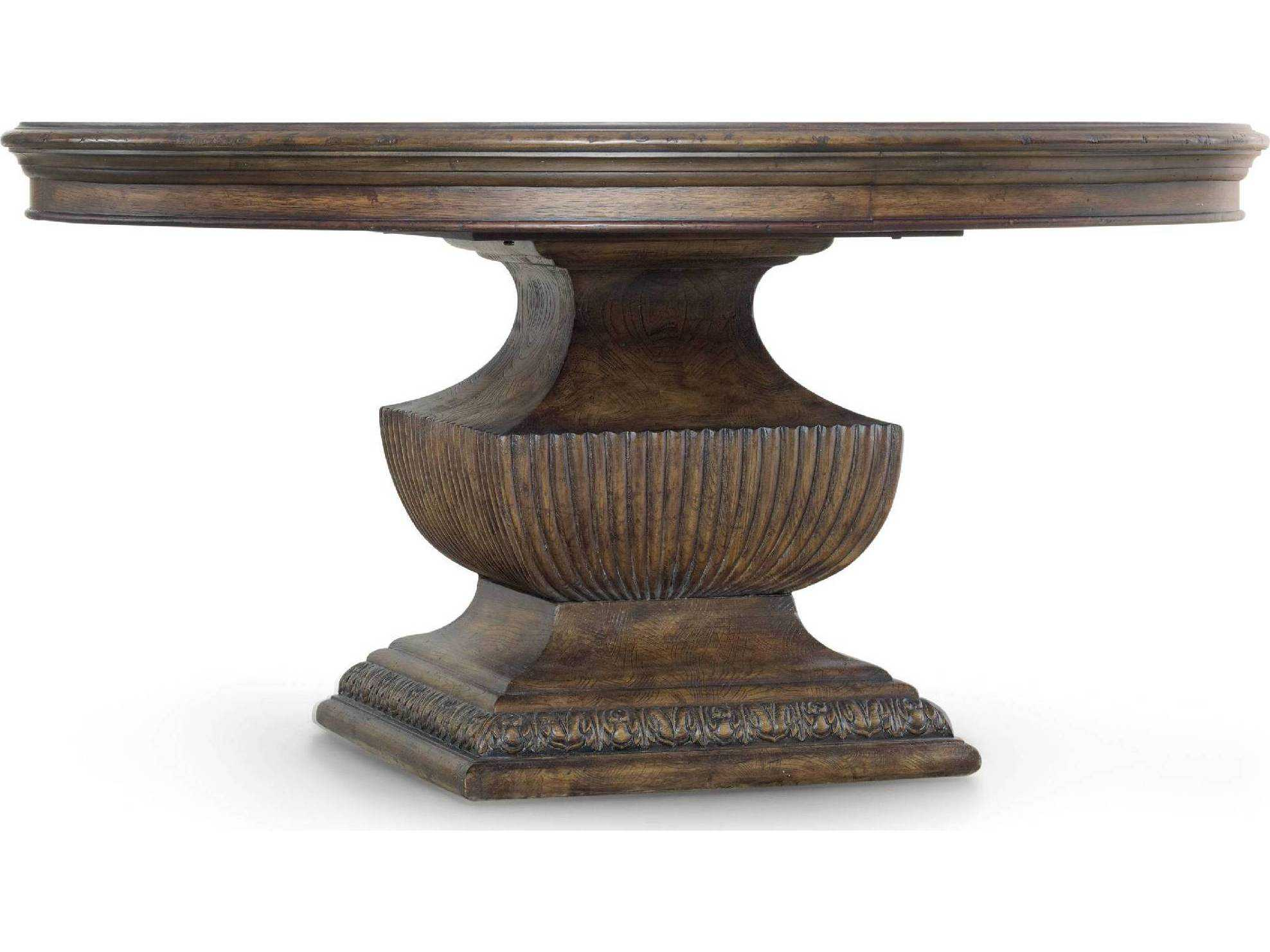 Hooker Furniture Rhapsody Rustic Walnut 60 Wide Round