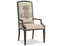 Hooker Furniture Rhapsody Insignia Rustic Walnut Dining Arm Chair
