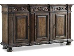 Hooker Furniture Rhapsody Rustic Walnut 72''L x 20''W Rectangular Credenza Buffet
