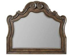 Hooker Furniture Rhapsody Rustic Walnut 50''W x 44''H Landscape Dresser Mirror