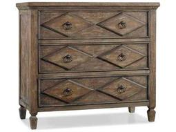 Hooker Furniture Rhapsody Rustic Walnut 38''W x 18''D Diamond Accent Chest