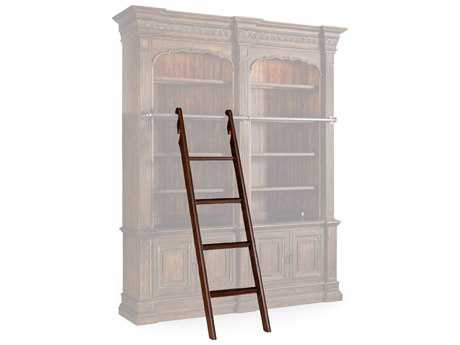 Hooker Furniture Adagio Dark Wood Bookcase Ladder