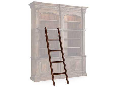 Hooker Furniture Adagio Dark Wood Bookcase Ladder