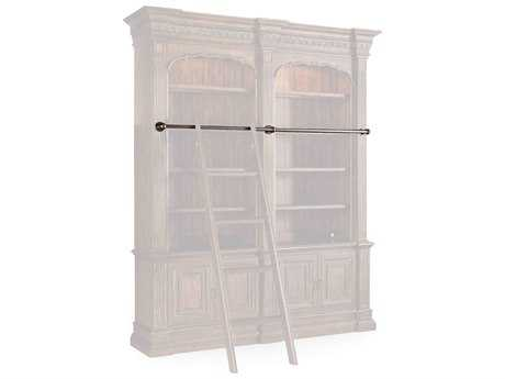 Hooker Furniture Adagio Dark Wood Double Bookcase Rail