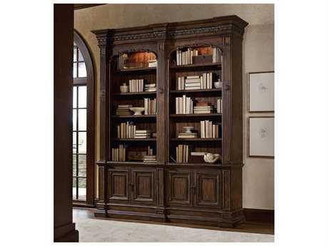 Hooker Furniture Adagio Dark Wood Bookcase