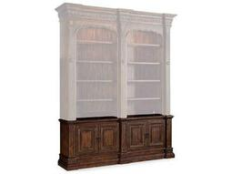 Hooker Furniture Adagio Dark Wood Double Bookcase