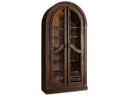 Hooker Furniture Adagio Rich Dark with Gold Tipping Bunching Curio
