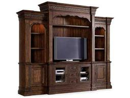 Hooker Furniture Adagio Rich Dark 129''L x 26''W Entertainment Center