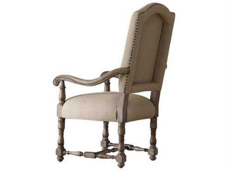 Hooker Furniture Sorella Antique Taupe Dining Arm Chair (Sold in 2)