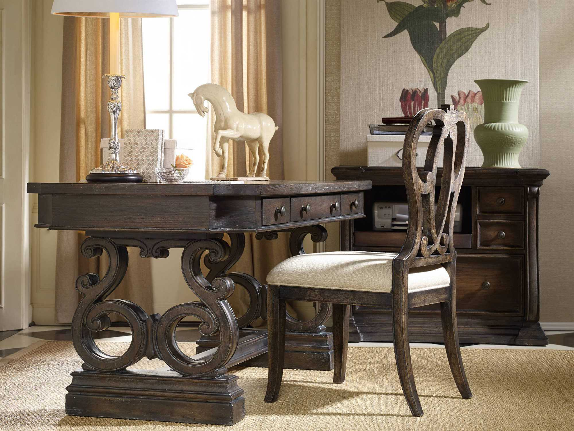Home Office Sets Office Furniture Elements: Hooker Furniture Davalle Home Office Set