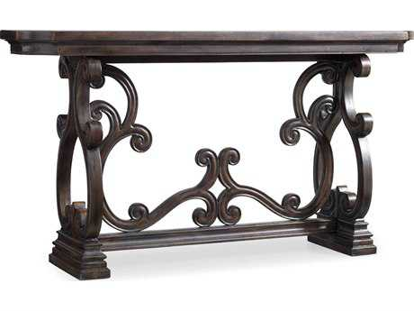 Hooker Furniture Davalle Dark Wood 72''L x 18''W Rectangular Console Table