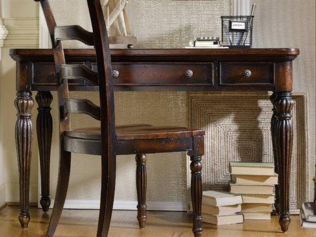 Hooker Furniture Eastridge Dark Wood 48''L x 26''W Rectangular Writing Desk