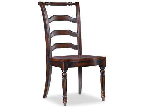 Hooker Furniture Eastridge Dark Wood Dining Side Chair