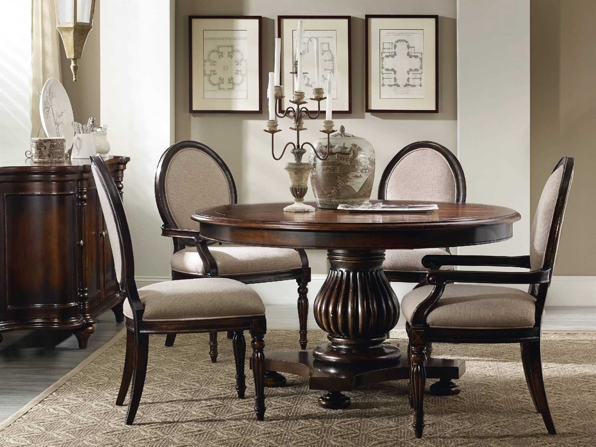 hooker furniture eastridge dining room set hoo517775206set