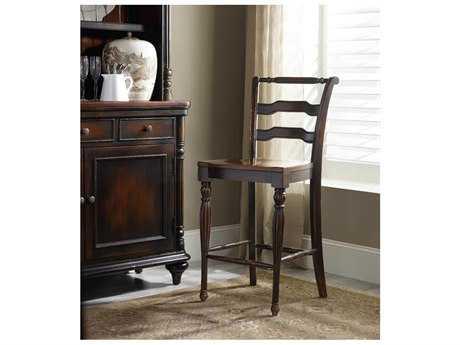 Hooker Furniture Eastridge Dark Wood Counter Stool