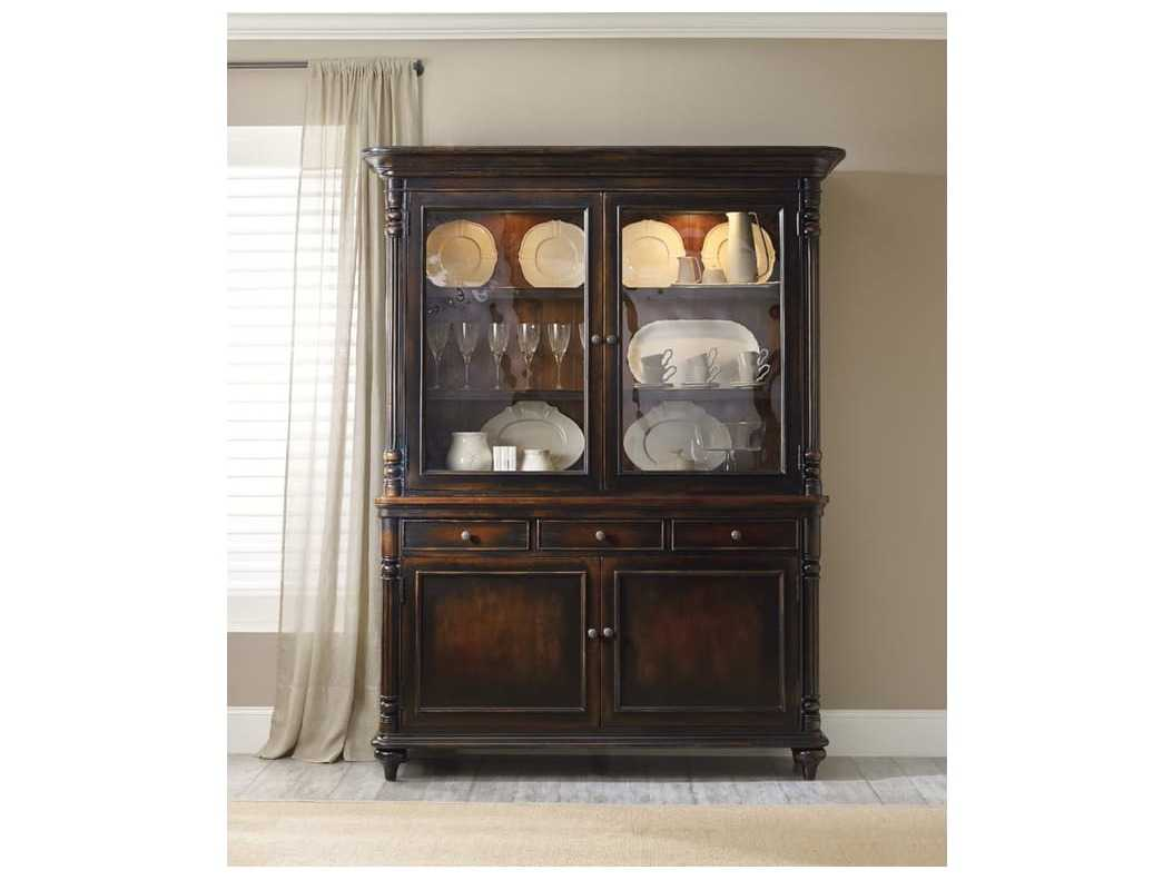 Hooker Furniture Dark Wood China Cabinets Hoo517775911