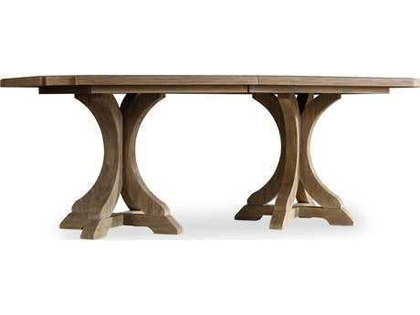 Hooker Furniture Corsica Light Wood 78''L x 44''W Rectangular Dining Table
